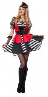 Piratin Pirat Piraten Kostüm sexy Damen Piratenbraut Freibeuter Fasching KK