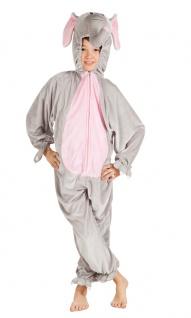 Elefant Kostüm Kinder Plüsch Dombo Overall Karneval Fasching Kinderkostüm KK