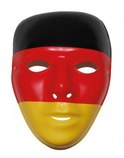 Deutschland Maske Fan-Artikel EM Herren Handball schwarz rot gold 2020 KK