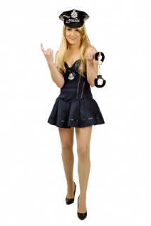 Polizistin Damenkostüm sexy Polizist Polizei Kostüm Damen Karneval Fasching KK