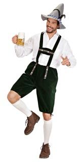 Oktoberfest Lederhose Herren Kostüm Trachtenhose Bayernhose Herrenkostüm KK