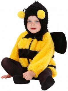 Bienen Kostüm Klein-Kinder Biene Bienchen Mara Kinderkostüm Karneval Fasching KK