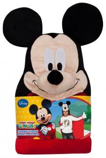 Umhang Kuscheldecke Fleece Mickey Mouse