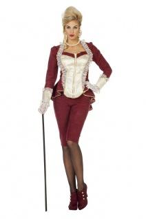Viktorianisches Kostüm Barock Rokoko Damen Marquise Jacke Hose Fasching Karneval - Vorschau