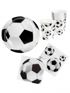 Party Set Fußball Deutschland Fan-Set WM 2018 Party 24 Teile KK