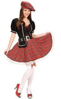 Karneval Klamotten Kostüm Schottin Inverness Dame Kostüm Schottland Damenkostüm