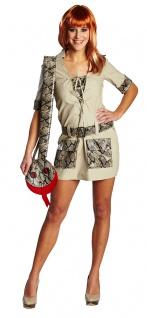 Safari Kostüm Damen sexy Dschungel Afrika Faschingskostüm Karneval KK