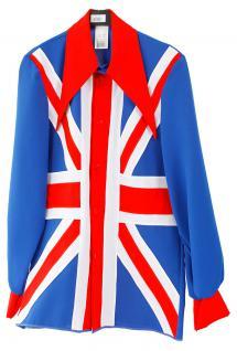 Britain Kostüm England Union Jack Jacke englische Flagge Herren-Kostüm Brexit KK