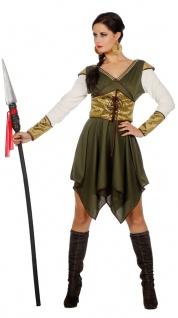 Robin Hood Kostüm Damen Lady Marian Bogenschützin Mittelalter Damen-Kostüm KK