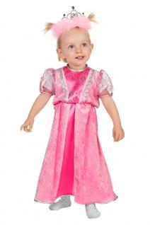 Prinzessin Kostüm Baby Prinzessin-Kleid Mädchen rosa Babykostüm Fasching KK