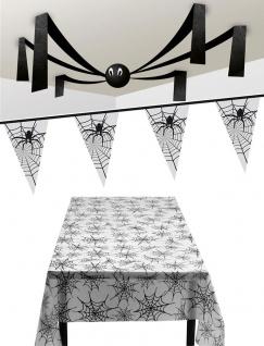 Halloween Party Deko Spinnen-Netz Raum-Dekoration KK