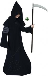 Sensenmann Kostüm Kinder Henker Jungen-Kostüm Tod Grim Reaper Sense Halloween