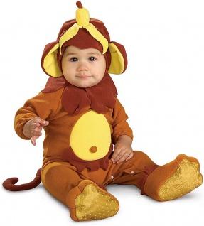 Baby Kostüm Affe Strampler Affenkostüm Kleinkind Fasching Karneval KK