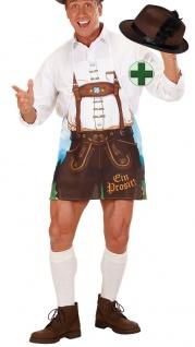Schürze Oktoberfest Herren Grillschürze INKL. Seppl Hut Trachten Hut Bayern Hut