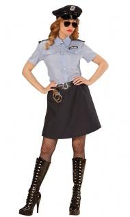 Polizist Kostüm Damen Cop Polizistin Polizei Damenkostüm Fasching Karneval KK