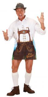 Oktoberfest Schürze Bayern Kostüm Herren Grillschürze Herrenkostüm Einheitsgr KK
