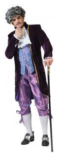Rokoko Herren-Kostüm Barock Kostüm Herren Renaissance Kostüm Herren lila KK