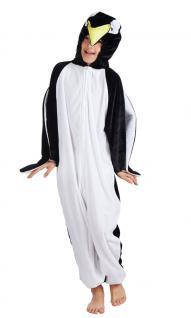 Pinguïn Kostüm Kinder Plüsch Pinguin-Overall Karneval Tier-Kostüm Kinder-Kostüm