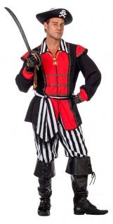 Piratenkostüm Herren Pirat Freibeuter Seeräuber Karneval Fasching KK