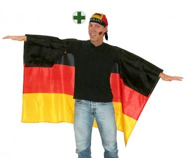 Fußball Fan-Artikel: Kopftuch Deutschland Fan Bandana Umhang EM WM Herren 2021