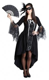 Rokoko Kleid Damen Barock Kostüm Gothic Maskenball Venezianisch Fasching KK