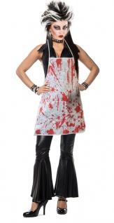Horror Kostüm Damen Zombiekostüm blutige Schürze Blut KK