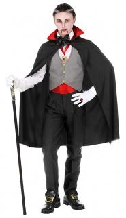 Vampir Kostüm Kinder Dracula Umhang Halloween Jungen-kostüm Karneval Fasching KK