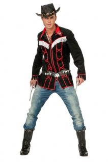 Cowboy Kostüm Herren Westernkostüm Cowboy-Hemd Sheriff Line Dance Karneval KK