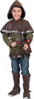 Kostüm Robin Hood Kinder Räuber Junge Karneval Fasching Jungen Kinderkostüm KK