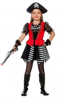 Piraten-Kostüm Kinder Piratin Piratenbraut Mädchenkostüm Fasching Karneval KK