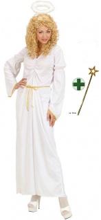 Engel Kostüm Damen Engelskostüm Weihnachtsengel Weihnachten Heiligenschein KK