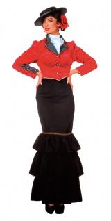 Spanierin Kostüm Damen Flamenco Tänzerin Damenkostüm Fasching Karneval KK