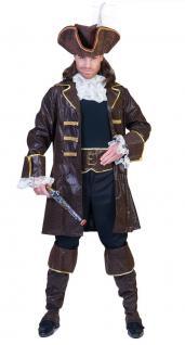 Piratenkostüm Kostüm Pirat Herren Freibeuter Seeräuber Karneval Fasching KK