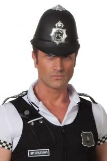 Polizei Hut Helm Bobby Polizist-Hut England London Herren-Hut Fasching KK