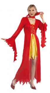 Teufel Kostüm Damen Teufelin Halloween Teufel Damenkostüm KK