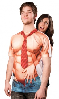 Casanova Kostüm Herren T-Shirt 3 D Herrenkostüm Karneval Fasching KK