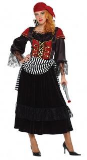 Piratenkostüm Damen Pirat Piratin Damenkostüm Kopftuch Piratenbraut Seeräuberin