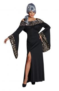 Vampir Kostüm Damen Damenkostüm Gothic Halloween Totenkopf Vampir Dame KK