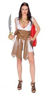 Gladiatorin Kostüm Damen Römische Kriegerin Antike Römerin Umhang Damenkostüm KK