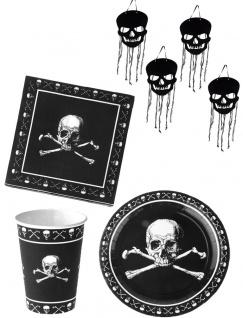Halloween Party Totenkopf Deko KK