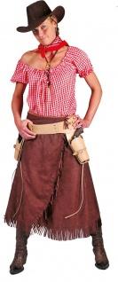 Cowgirl Kostüm Sheriffkostüm Western Saloon Cowboy Damen Karneval Fasching KK