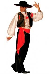 Spanier Kostüm Herren Torero Stierkämpfer Carlos Spanien Herrenkostüm Karneval K