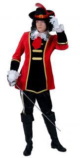 Karneval Klamotten Kostüm Musketier Herren Kostüm Abenteuer Herrenkostüm