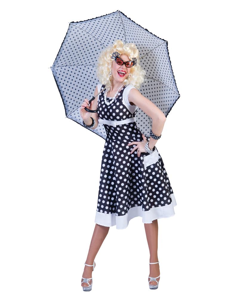 Rock N Roll Kostum Damen Rockabilly Kleid 50er Jahre Fasching