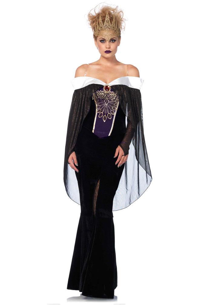 Bose Konigin Kostum Stiefmutter Marchen Kostum Luxus Krone Karneval