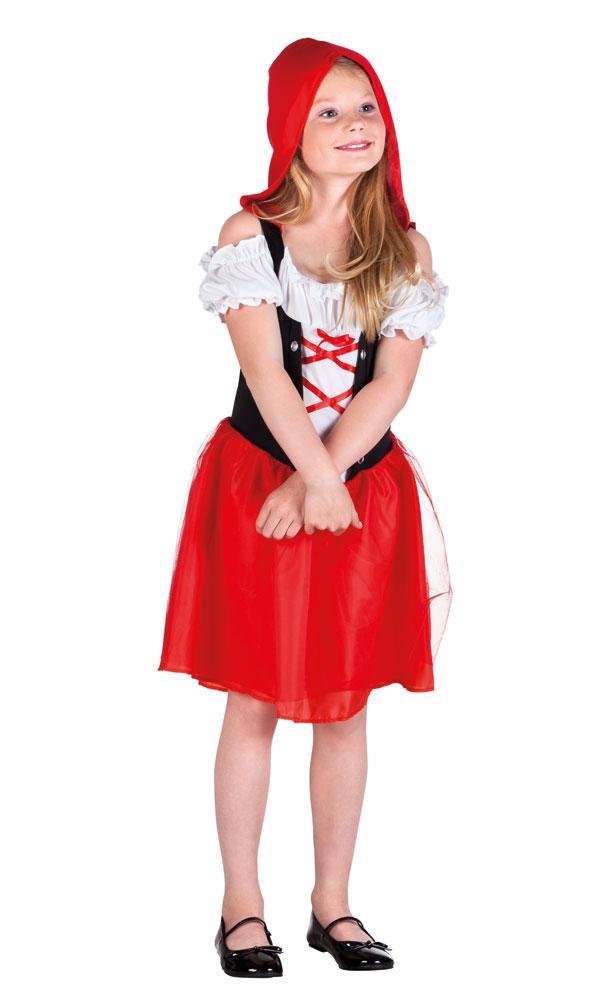 Karneval Klamotten Rotkappchen Kostum Madchen Karneval Marchen