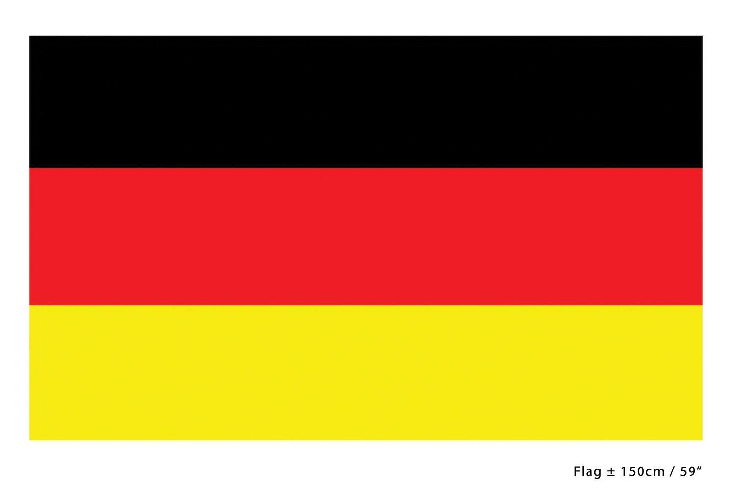 deutschland fahne flagge 90 x 150 cm fan artikel schwarz rot gold fu ball wm k kaufen bei kl. Black Bedroom Furniture Sets. Home Design Ideas