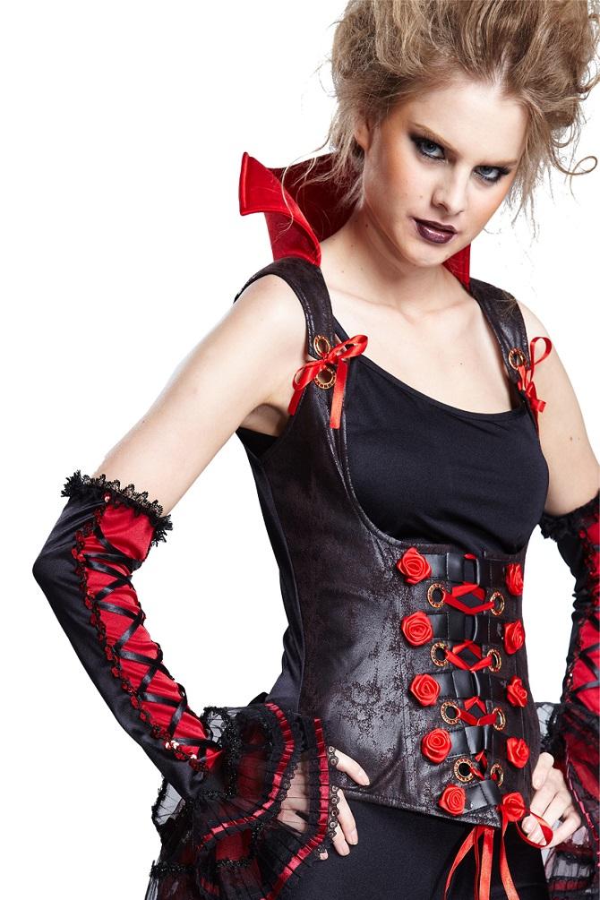 vampir kost m damen damenkost m gothic korsage kost m mit. Black Bedroom Furniture Sets. Home Design Ideas