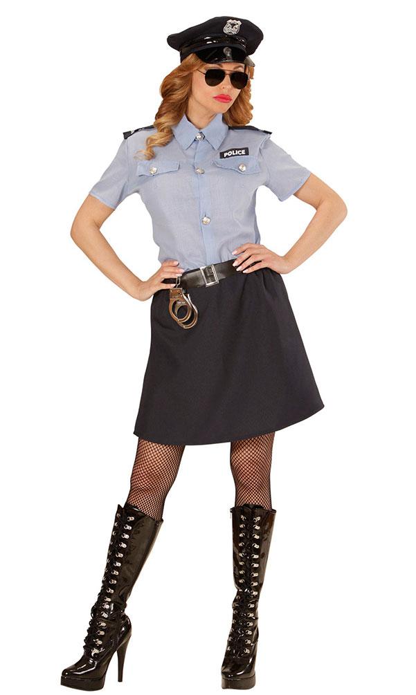 Polizist Kostum Damen Polizistin Polizei Damenkostum Fasching