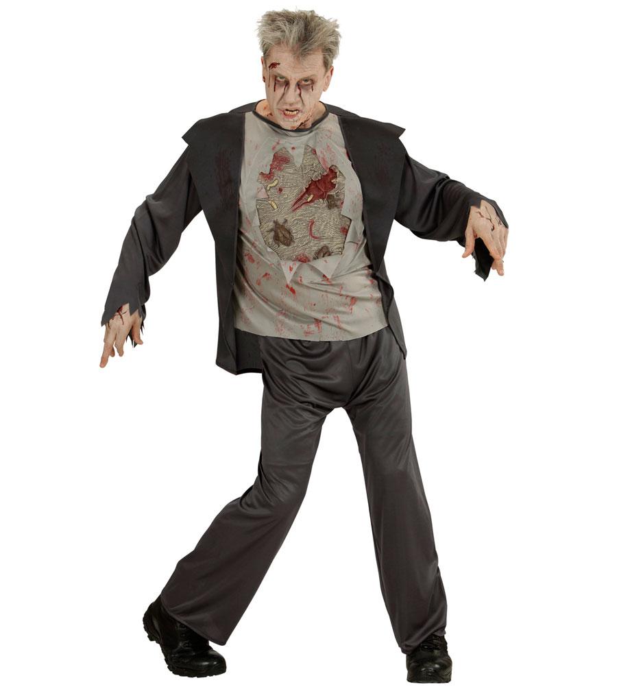 zombie kost m herren horror herren kost m grusel kost m. Black Bedroom Furniture Sets. Home Design Ideas